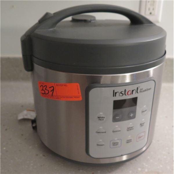 Instant Zest Rice & Grain Cooker Model Zest20C