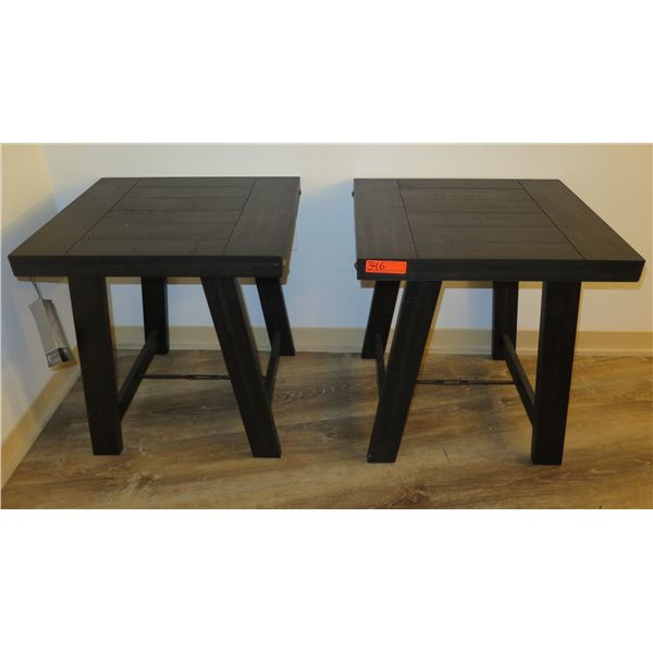 Qty 2 Ashley Signature Design Occasional Tables T351-13