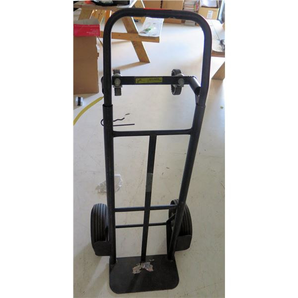 Milwaukee Metal Warehouse Hand Truck w/ Expandable Platform Dolly 0910