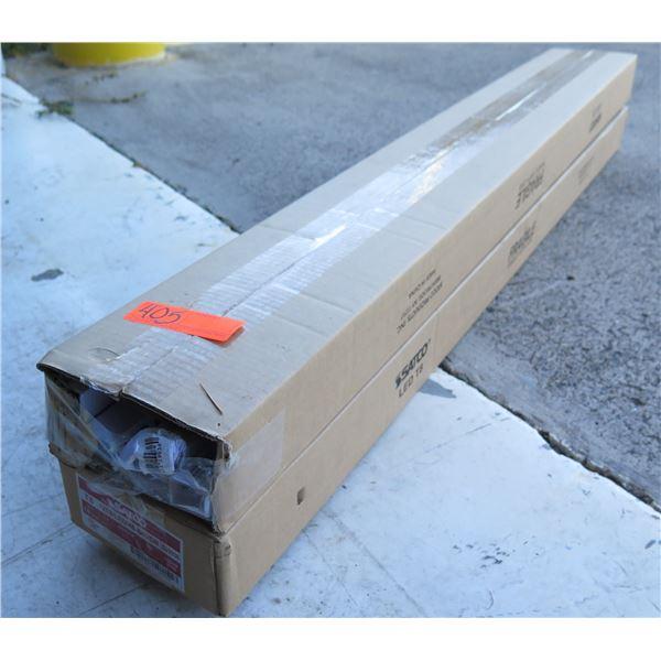 "Qty 2 Boxes (10 pcs per box) Satco 12 Watts 48"" LED Lights New in Box"