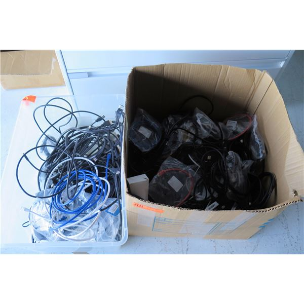 Misc Cords & Cables: HDMI, USB, etc