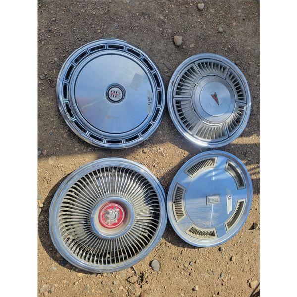4 hub caps
