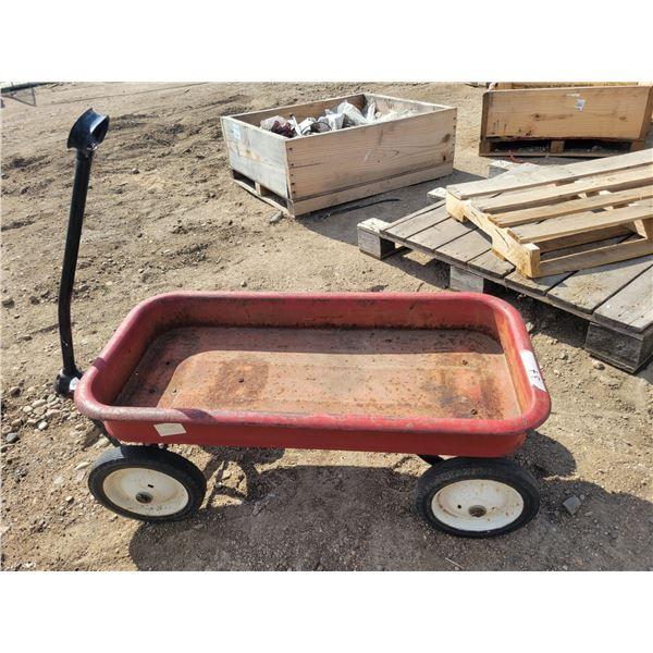 "red wagon 36"" X 17"""