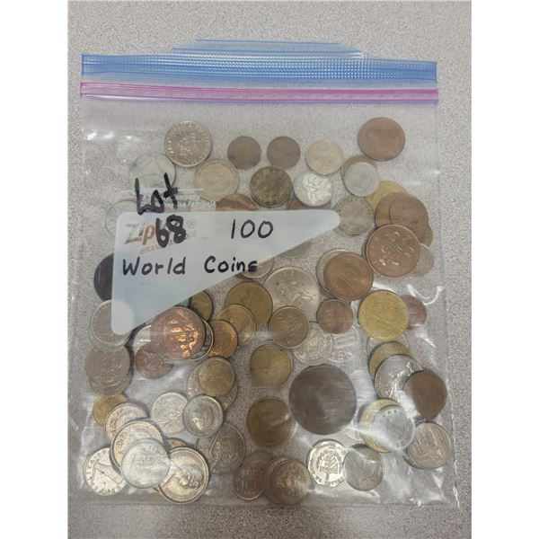 Bag of world coins (100)