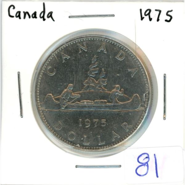 Canada 1975 nickel dollar