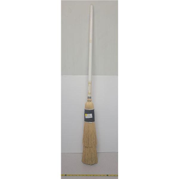 Brand new straw curling broom
