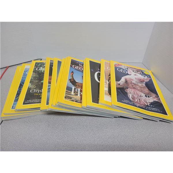 National geographic magazines (14)