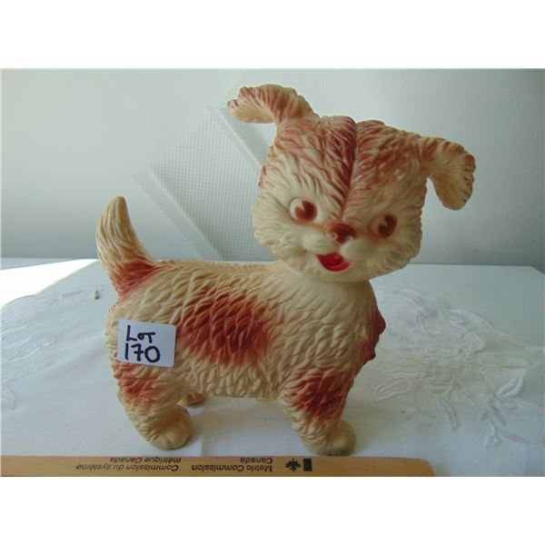 EDWARD MORLEY MODEL 1962 SQUEAKY TOY DOG HEAD TURNS