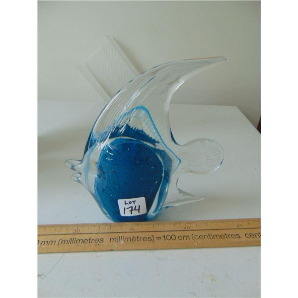 BLOWN GLASS ABGEL FISH