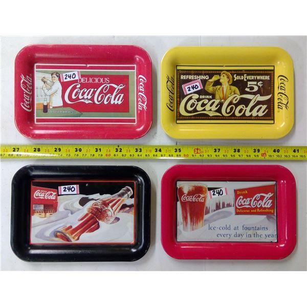 4 - Coca Cola Mini Trays