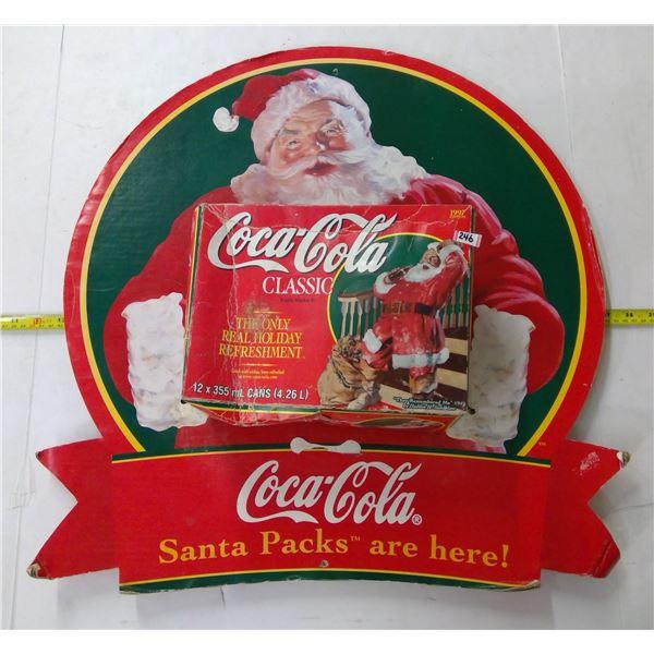 Coca Cola Advertising - Cardboard