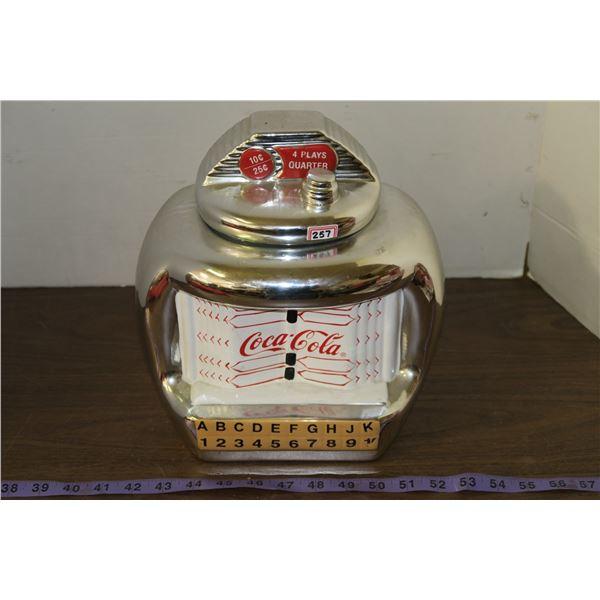 Coke Themed Cookie Jar