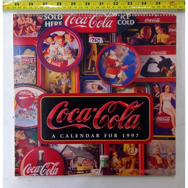 Coca-Cola Calendar 1997