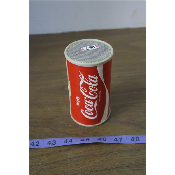 Coca Cola Can Shaped Radio, works