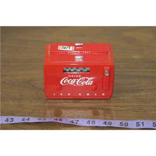 Coca Cola Toy Radio, works