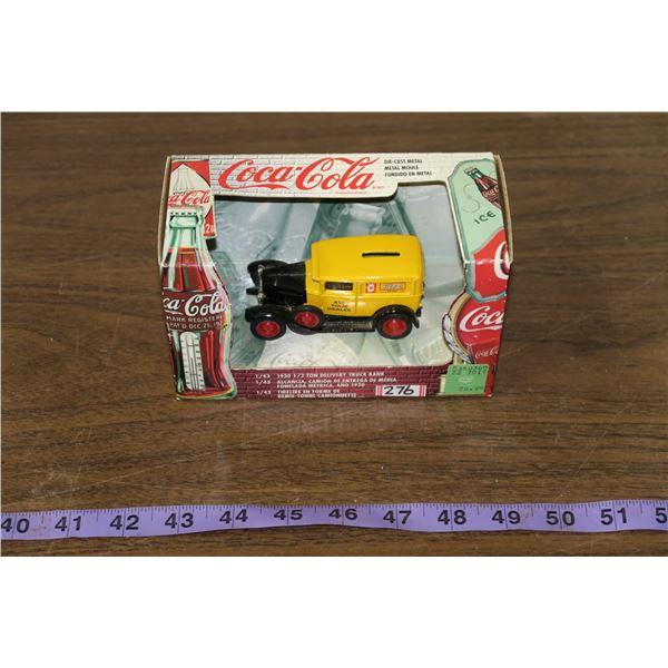 Coca Cola Scale Model Truck
