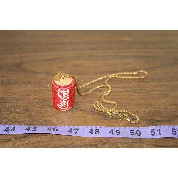 Coca Cola Bedazzled Chain