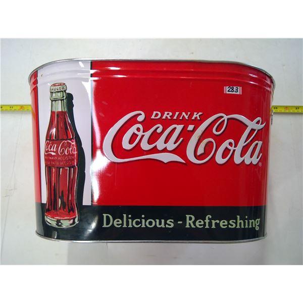 Coca Cola Tin Bucket