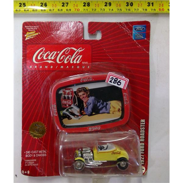 Coca Cola Diecast 1927 Ford Roadster