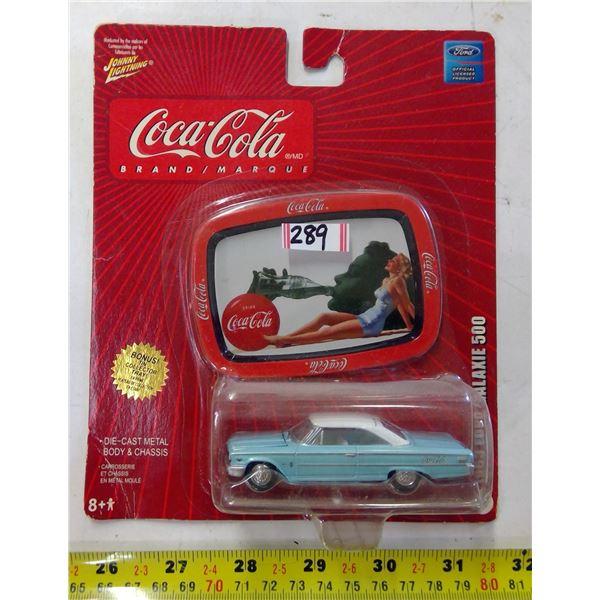 Coca Cola Diecast 1963 Ford Galaxie 500