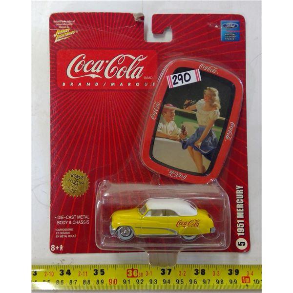 Coca Cola Diecast 1951 Mercury