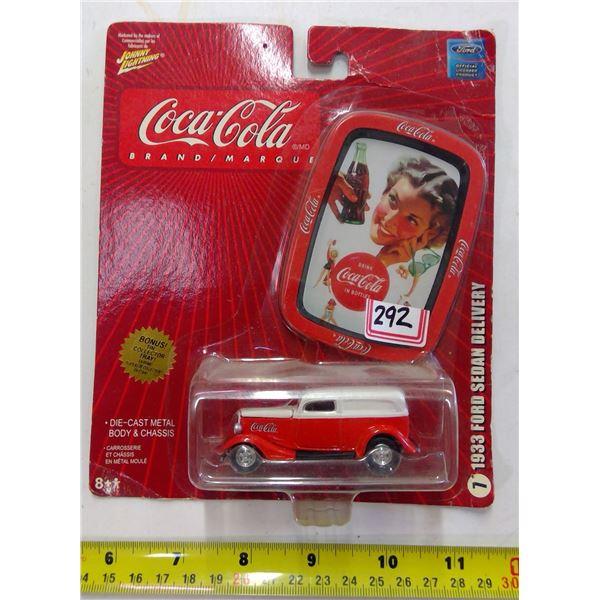 Coca Cola Diecast 1933 Ford Sedan Delivery