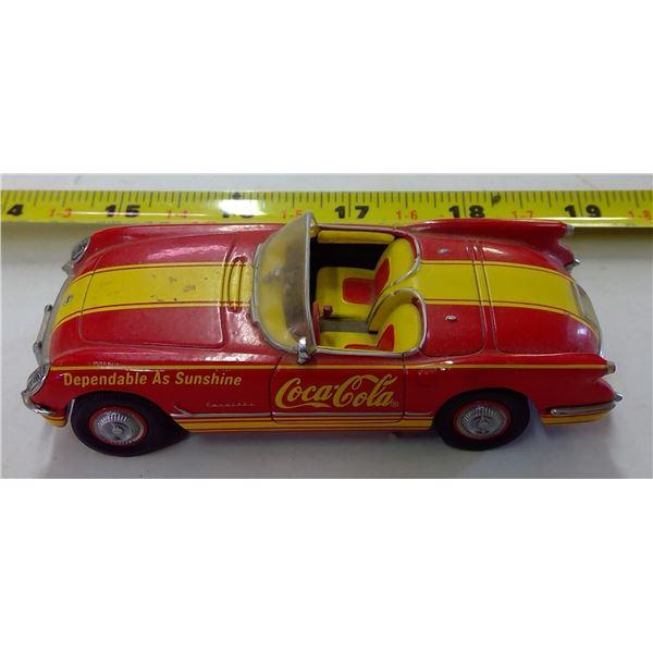 Coca Cola Dinky Car - 1953 Chevrolet Corvette