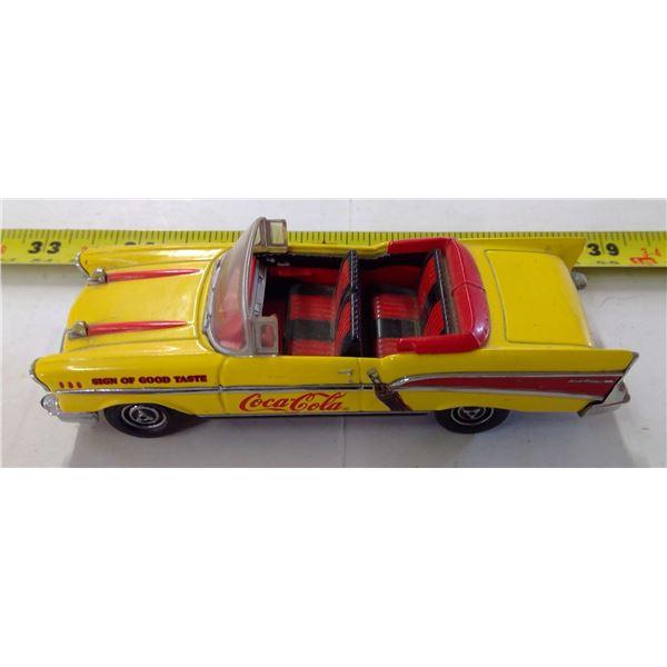 Coca Cola Dinky Car - 1957 Chevrolet Bel-Air Convertible