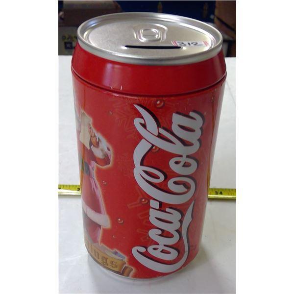 Coca Cola Can Shaped Piggy Bank