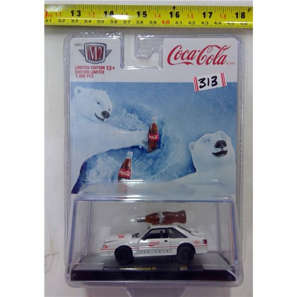 Coca Cola Toy Car - 1988 Ford Mustang GT Limited Edition