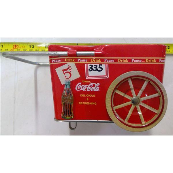 Coca Cola Tin - Wagon