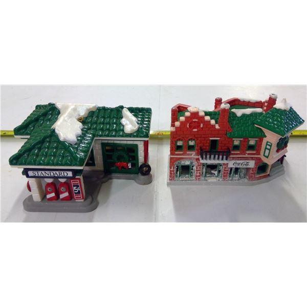 2 - Coca Cola Christmas Ornaments