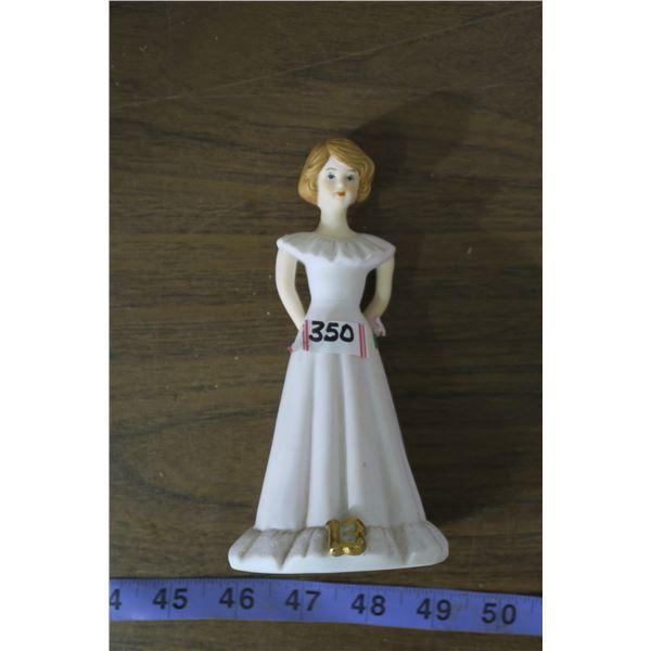 Growing Up Birthday Girls Enesco Figurine