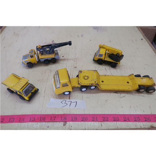 Tonka Trucks X3, Majorette X1 Toy Work Trucks