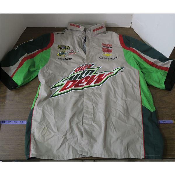 Dale Earnhardt Jr. Mtn Dew Themed Jacket, Size L