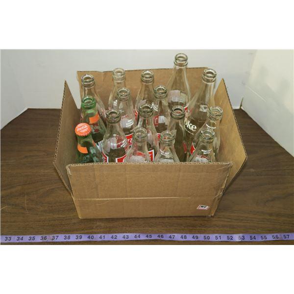 Lot of misc. Coke Bottles