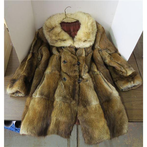 Fur Jacket, Size Unknown