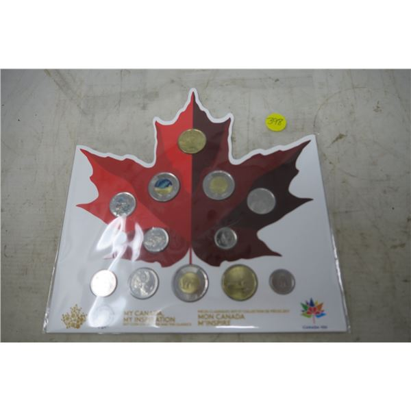 2017 Canadian Coin Collection - My Canada, My Inspiration- 12 Piece