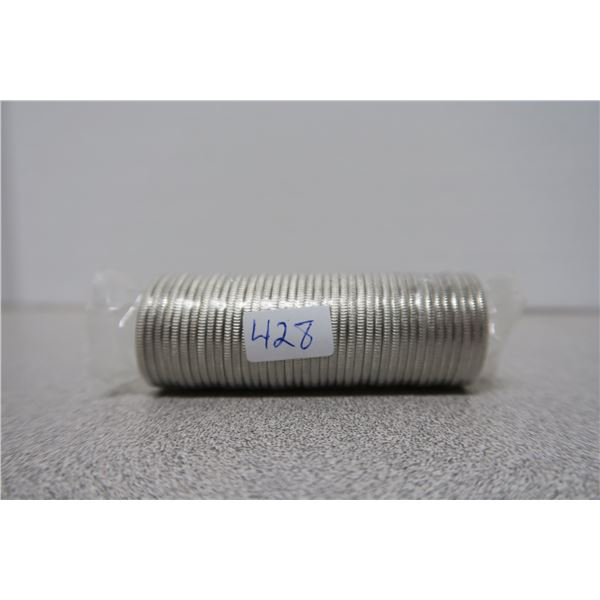 1999 Canadian Unciculated Roll ($10) of Commemorative Quarters