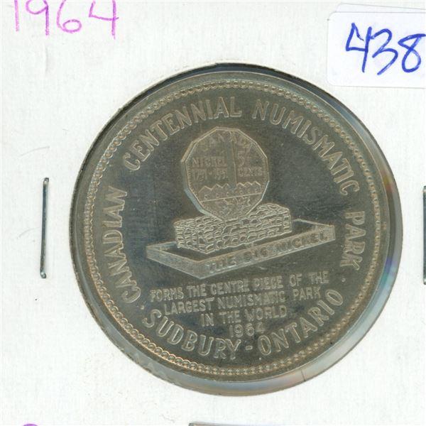 1964 Canadian Big Nickel