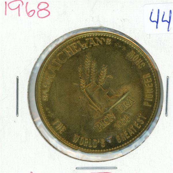 1968 Saskatoon PION ERA Trade Dollar