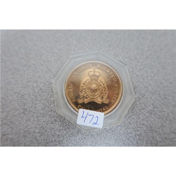 1973 RCMP - Mantiens le Droit - Commemorative Coin