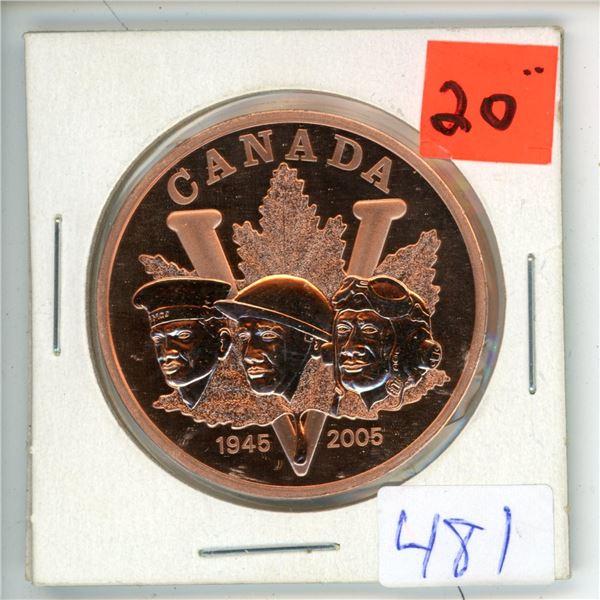 2005 Canadian Big Victory Nickel