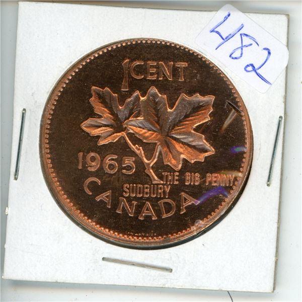 1965 Big Canadian Penny