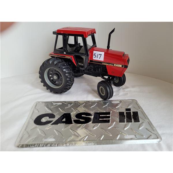 Vintage Case International 2594. Special Edition Las Vegas Feb. 22-28. License plate.