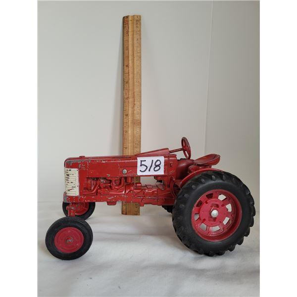 Vintage Ertl McCormmick Farmall 350 tractor. Made in Dyersville, Iowa USA
