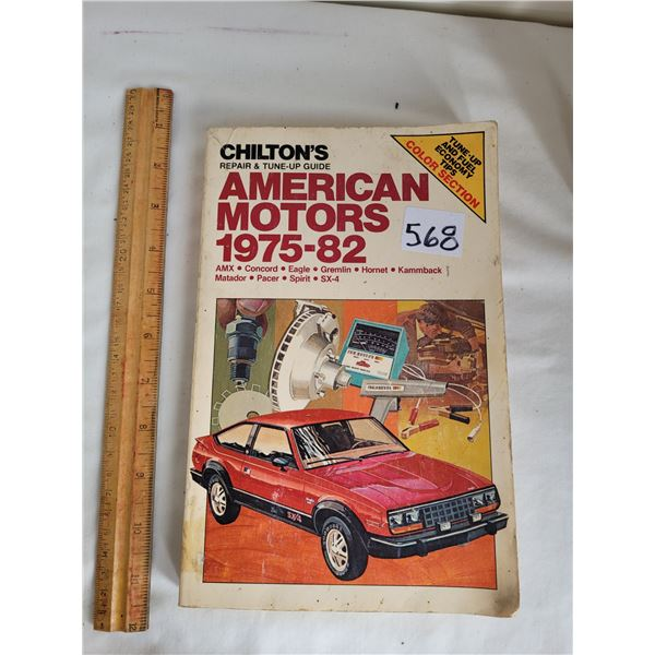 Chilton's Repair and Tune up guide: For American Motors 1975-'82.