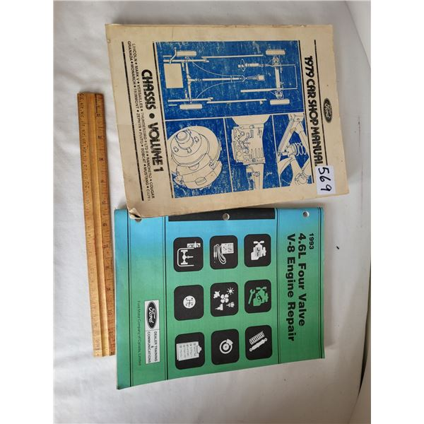 Shop Manual for 1979 Ford Vehicles. 1993 Ford dealer training of V8 engine repair.