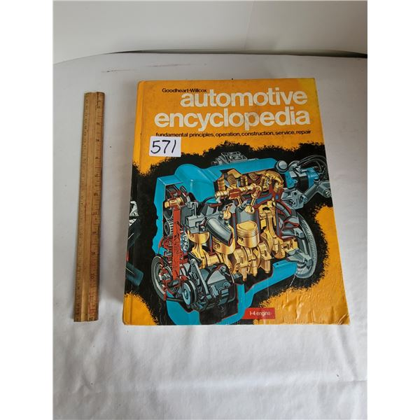 Automotive Encyclopedia. Copyright 1981