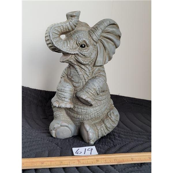 Cast Iron elephant doorstop.